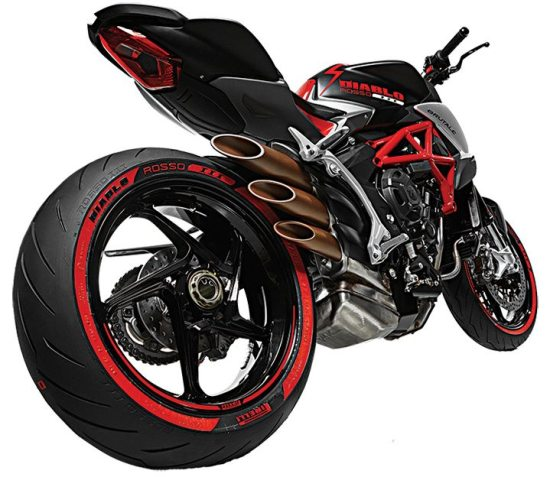 MV Agusta and Pirelli have made another Italian design masterpiece with the Diablo Brutale.