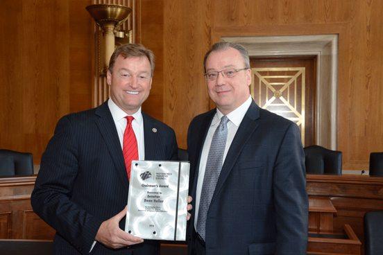 Senator Dean Heller (R-NV); Dennis McNeal