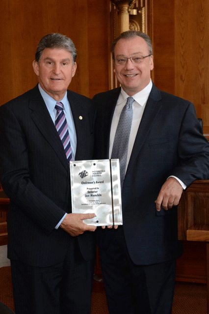 Senator Joe Manchin (D-WV); Dennis McNeal