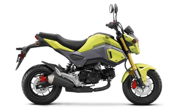 Honda Announces 2017 Lineup Grom Redesign