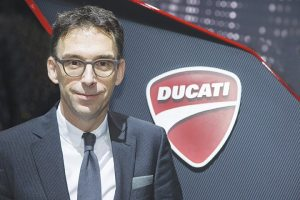 "CFO André Stoffels has been part of Ducati's ""consistently upward growth curve."""