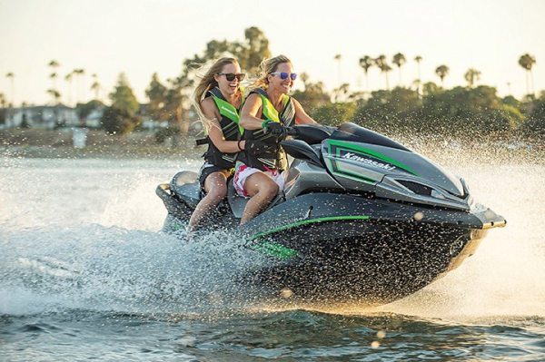 Sales of models like the 2016 Kawasaki Jet Ski Ultra LX led to another strong month of sales in April for the PWC segment.