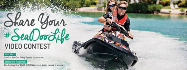 Sea-Doo's #SeaDooLife video contest is the brand's latest social media-based contest.
