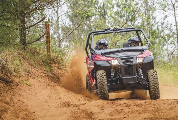With its 50-inch width, the Wildcat Trail has been a popular model for Arctic Cat.
