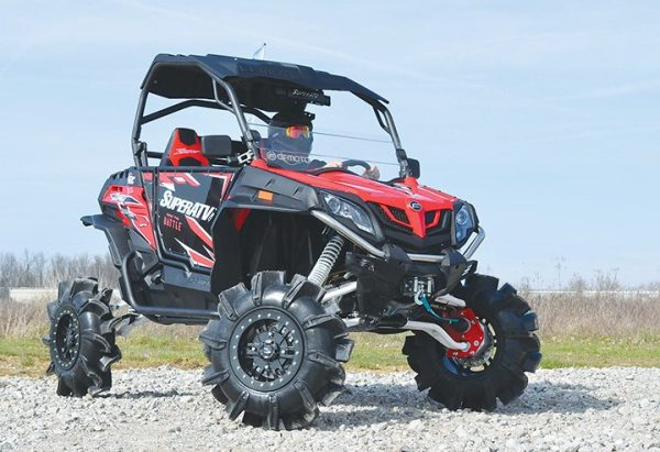 Look for the SuperATV-equipped machine at off-road events this fall.