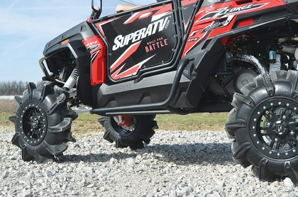 CFMOTO's ZForce 800 EX took on a new look with an assist from SuperATV.