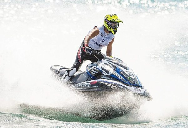 Riva Racing's Cyrille Lemoine is among the pro watercraft riders who have benefitted from the MaptunerX flash tuner.