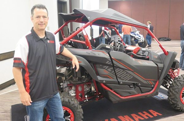 Mike Martinez, Yamaha's vice president of ATV/side-by-side operations, sees a broadening market for the 2017 YXZ1000R SS.