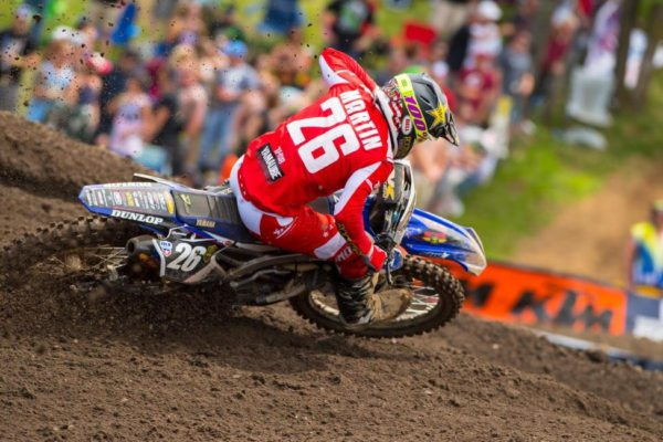 Alex Martin finished second overall. Photo: Simon Cudby.