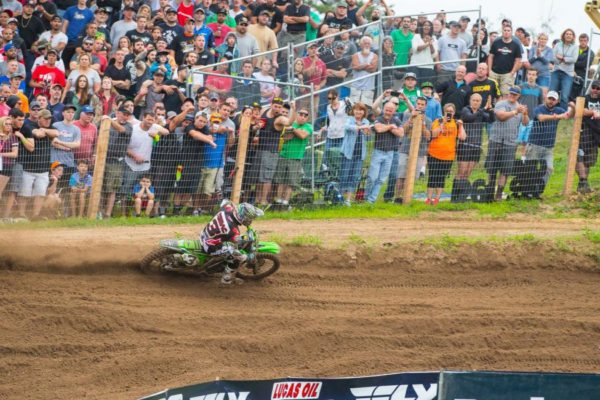 Tomac was dominant en route to his first win of 2016. Photo credit: Simon Cudby.