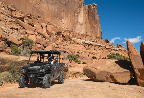 Bad Boy showcased its latest models to the recreation media earlier this year in Moab, Utah.