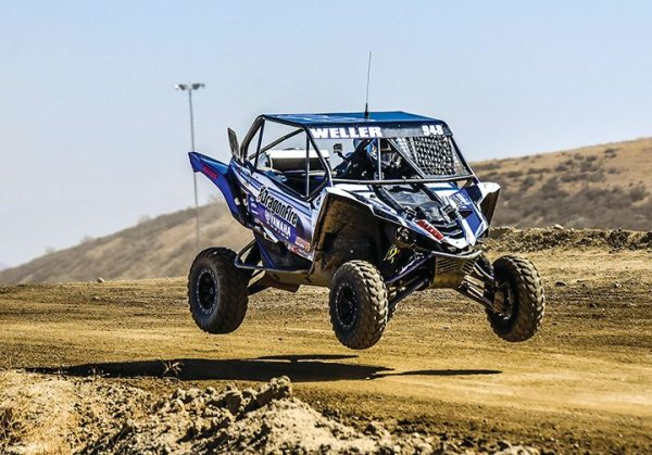 Corry Weller continues to collect podium finishes with the Yamaha YXZ1000R.