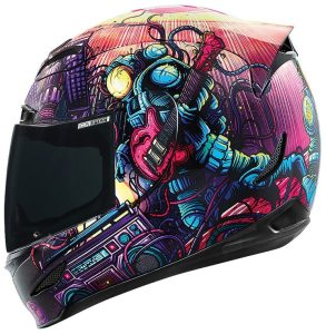 The all-new Interplanetary Funkmanship helmet from Icon retails for $280.