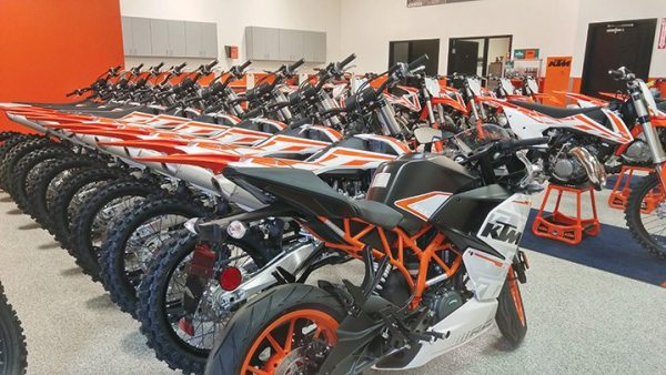 In mid-June, KTM was preparing media demo bikes for distribution.