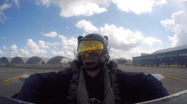 Josh Ready For Takeoff
