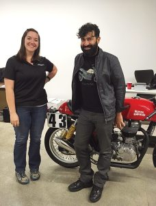 Assistant editor Kate Swanson met with Royal Enfield CEO Siddartha Lal to discuss the brand's recent North American launch.