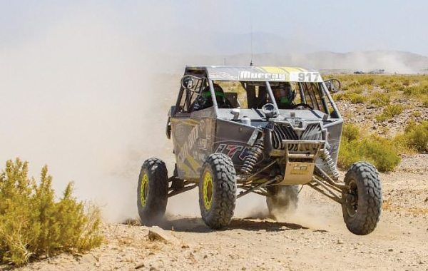 Jason Murray won the Pro UTV Turbo class at the Vegas To Reno Best In The Desert race using the new 31-inch ITP UltraCross R Spec tires. (Photo by Rusty Baptist)