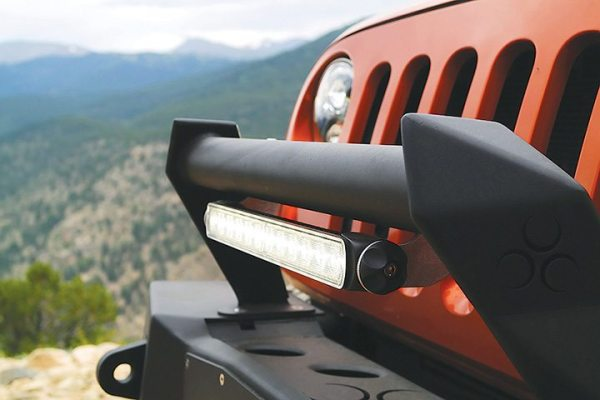 The Model TS1000 is a 14-inch LED light bar from J.W. Speaker.