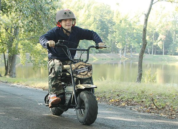 Monster Moto has developed an 80cc mini bike and go-kart, along with a 250W electric mini bike.
