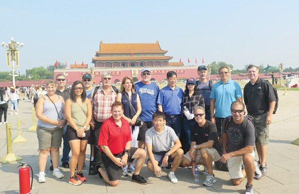 Following the dealer meeting, the 2015 Pioneer Club members were treated to three days in Beijing, with stops at Tiananmen Square, the Forbidden City, the Great Wall and the Olympic Stadium village, among other locations.