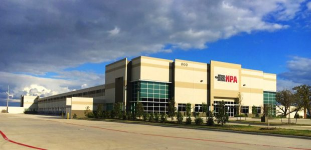 NPA's new Dallas facility is located at 900 Gerault Road in Flower Mound.
