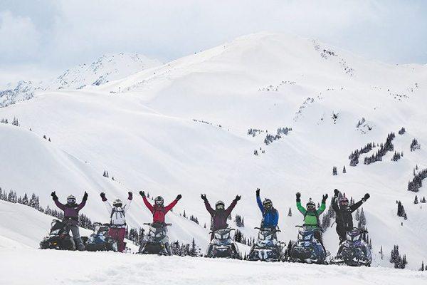 Ski-Doo will sponsor riding clinics targeted to women deep snow riders.