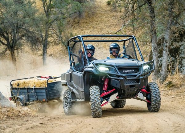 Utility side-by-sides, like the Honda Pioneer, have become popular work vehicles on farms, ranches, personal property and other areas where they can help complete tasks.