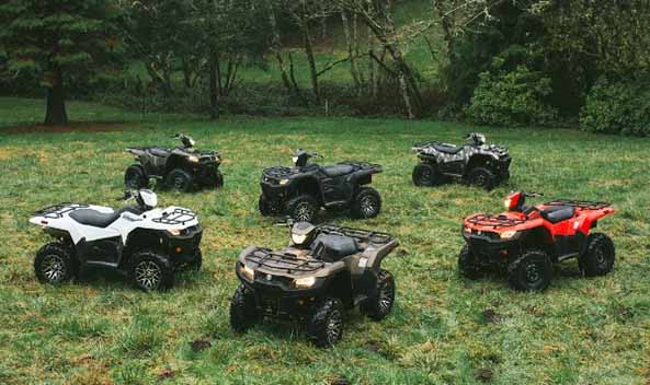 Suzuki releases 2019 KingQuad 750 and 500 models   Powersports Business
