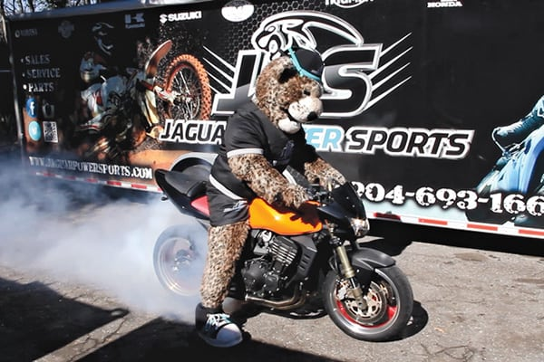 Jaguar Power Sportsu0027 Mascot, Jolt, Attends Events Around Town And Helps  Increase Brand Awareness. Photos Courtesy Of Jaguar Power Sports