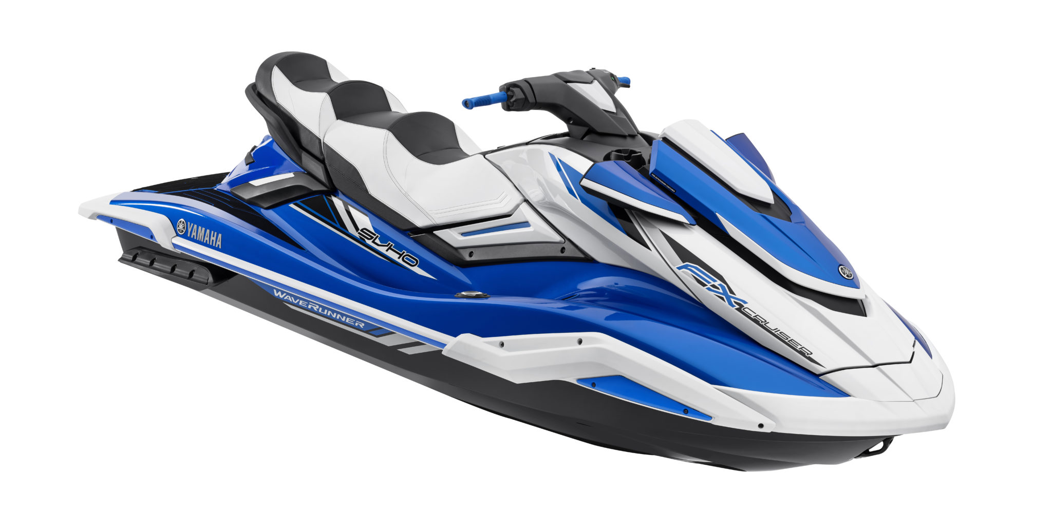 2019 Yamaha WaveRunner FX: Color touchscreen instrumentation