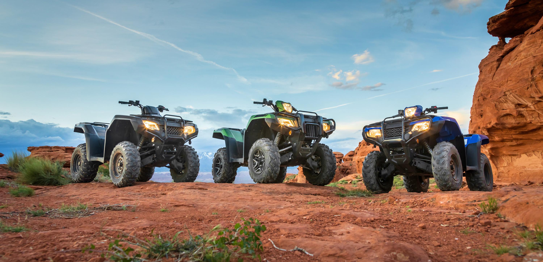 Honda's 2020 Foreman Rubicon ATVs get 43cc displacement