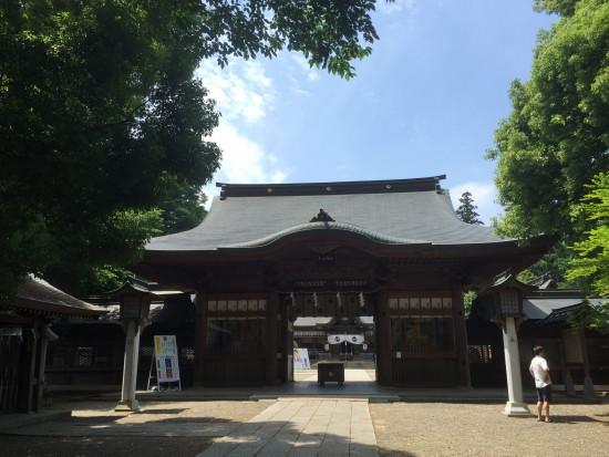 栃木県にある須賀神社はこころ安らぐ鎮守の森