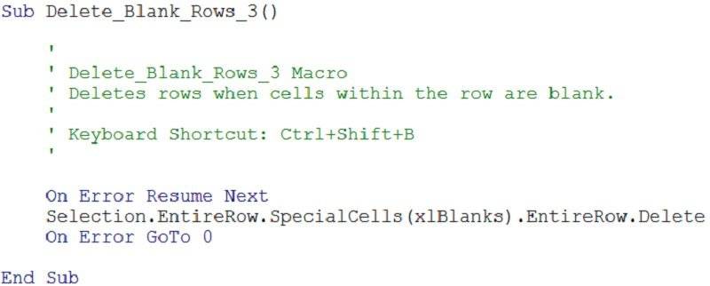 Excel Vba Goto 0 excel vba delete blank or empty rows 5 easy to – Vba Delete Worksheet