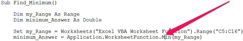 Vba Worksheet Functions 5 Ways To Easily Use Excel