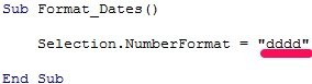 Excel Vba Date Format 25 Macro Examples To Easily Set