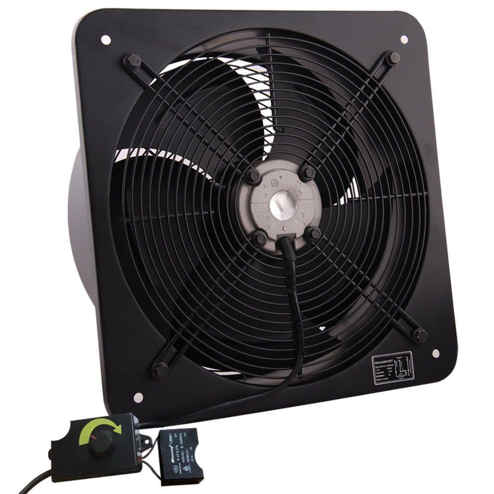 industrial extractor exhaust fan speed controller