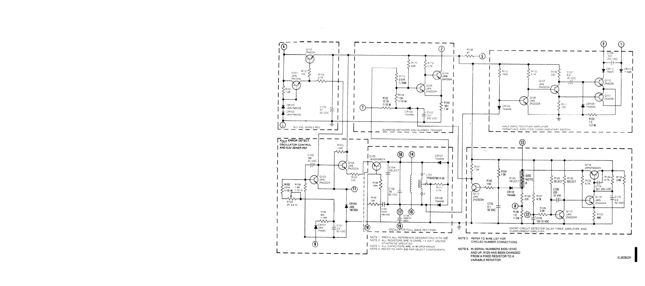 Figure Fo 3 Phase A Schematic Diagram