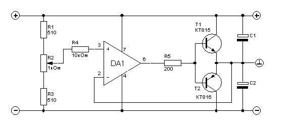 30V to ±15V DC Converter