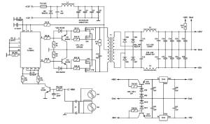 ± 60 Volt Switching Power Supply for PA  Power Supply Circuits