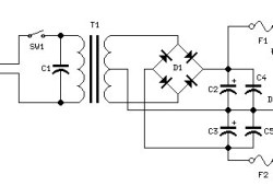 Power Supply for 25W Power Amplifier based MOSFET