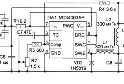 Low Power Switching Power Supply 3.3V to 9V / 0.5A