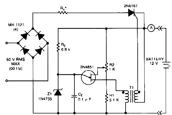 4 volt battery charger circuit diagram 4 image 12v battery charger max 20 a rms power supply circuits on 4 volt battery charger circuit