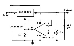 Adjustable Output Regulator