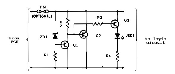 logic overvoltage protection power supply circuits