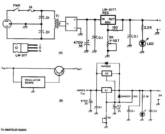 Universal power supply module