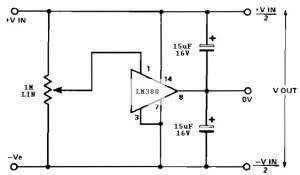 Split power supply