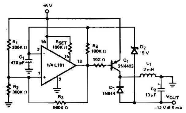 Low Power Regulated DC to DC Converter - Power Supply Circuits on