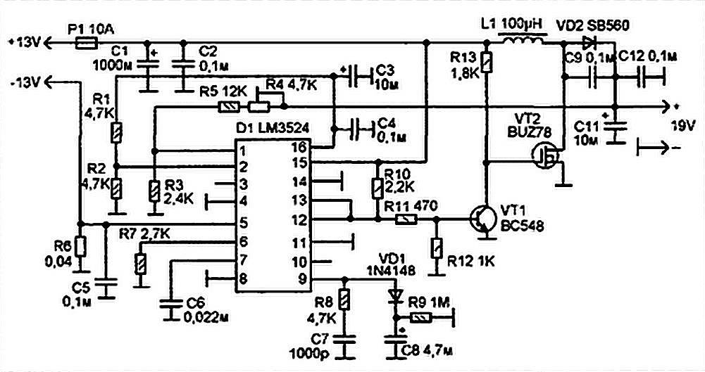 Car DC to DC Converter for laptops - Power Supply Circuits