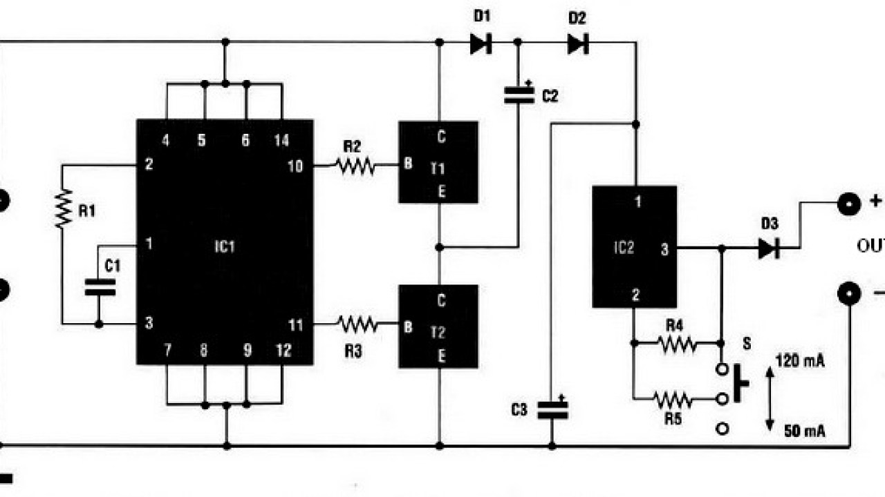 Car Nicd Battery charger - Power Supply Circuits Nicd Battery Charger Wiring Diagram on