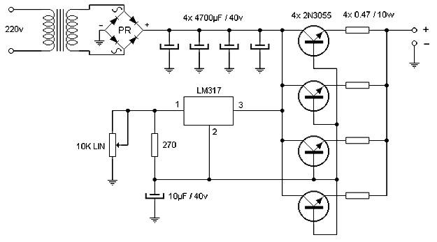 15a schematic wiring wiring diagrams Schematic Diagram Symbols 15 ampere adjustable power supply power supply circuits15 ampere adjustable power supply